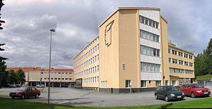 JAMK University of Applied Sciences - JAMK main campus.