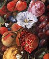 Jan Davidsz. de Heem - Festoon of Fruit and Flowers (detail) - WGA11275.jpg