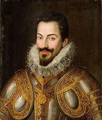 Charles Emmanuel I, Duke of Savoy - Image: Jan Kraeck Ritratto Di Carlo Emanuele I Di Savoia (1562 1630)