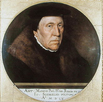 Jan van Scorel - Portrait of Jan van Scorel by Antonis Mor (1560)