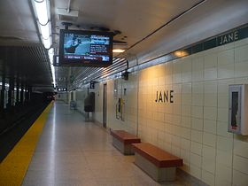 Image illustrative de l'article Jane (métro de Toronto)