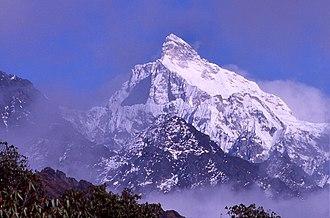 Kumbhakarna Mountain - Image: Jannu Gyabla Pass