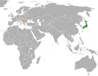 Diplomatic relations between Japan and the Republic of Serbia