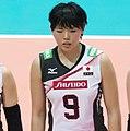 Japan Volleyball team inc Haruyo Shimamura (cropped).jpg