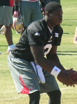 Jarrett Brown at 49ers training camp 2010-08-09.JPG
