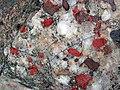 Jasper-quartz pebble conglomerate (Lorrain Formation, Paleoproterozoic, ~2.3 Ga; Ottertail Lake Northeast roadcut, near Bruce Mines, Ontario, Canada) 33 (46793269355).jpg