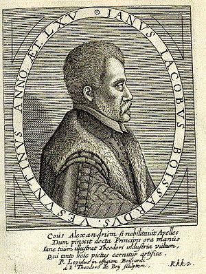 Jean-Jacques Boissard - Jean-Jacques Boissard c.1598 by Theodore de Bry.