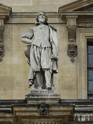 Jean de Brosse - Jean de Brosse statue at the Louvre, Paris, France.