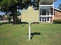 Jefferson Davis historical marker, Abbeville.JPG
