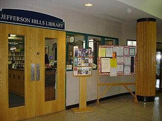 Jefferson Hills, Pennsylvania - Jefferson Hills Public Library