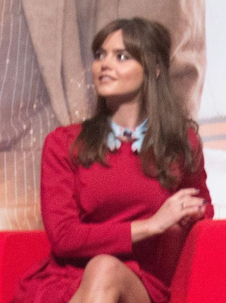 File:Jenna Coleman & Steven Moffat (11030237754) (cropped to Coleman).jpg