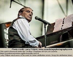 Jerry Lee Lewis - Lewis performing in Memphis on April 30, 2011