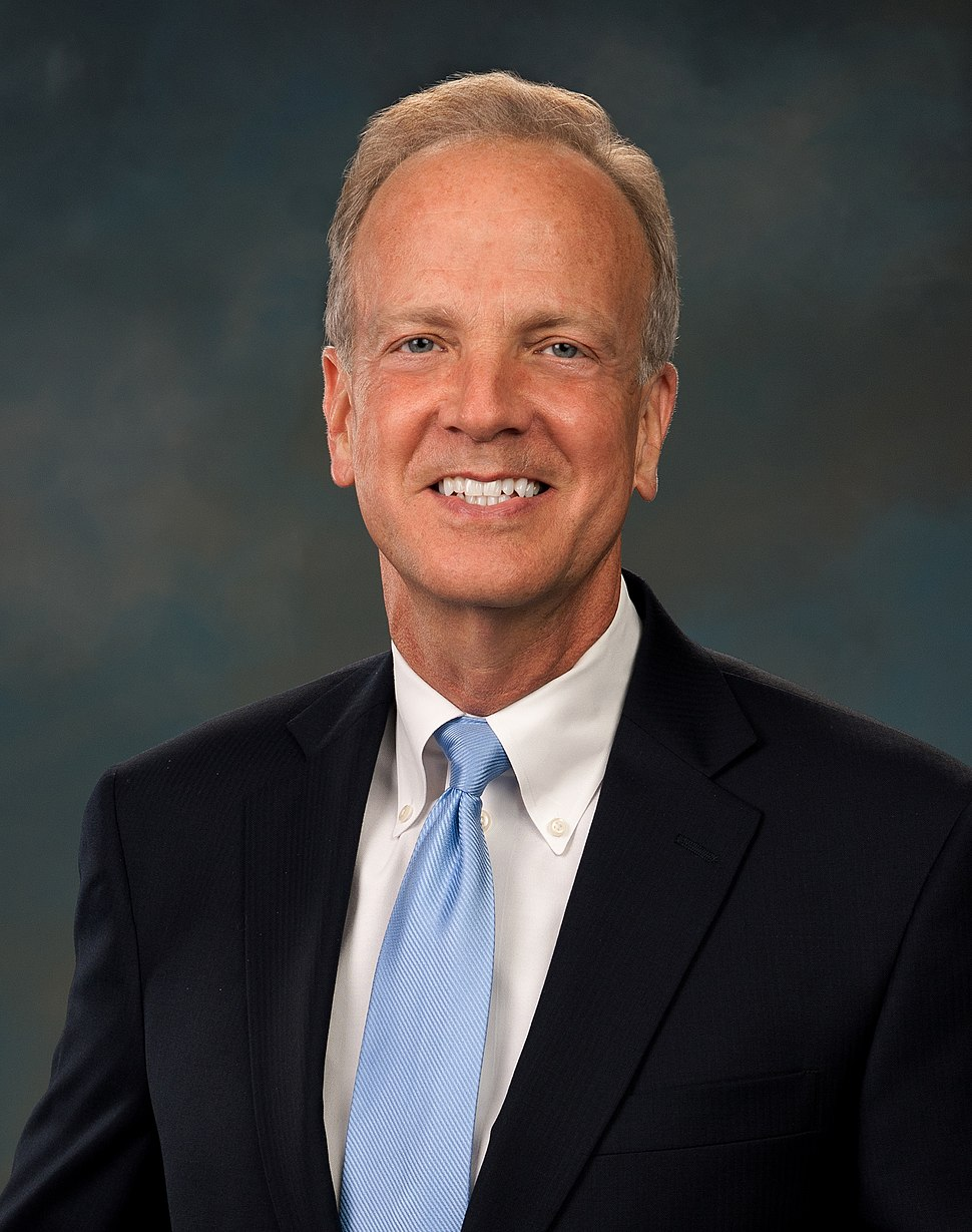 Jerry Moran, official portrait, 112th Congress headshot