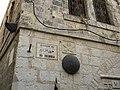 Jerusalem; Fifth Station of Via Dolorasa (Simoni Cyrenaeos); 1-3000-307 (2).jpg