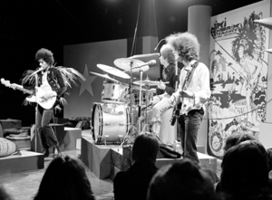 Hear My Train A Comin' - Jimi Hendrix, Mitch Mitchell, and Noel Redding performing on Dutch television, 1967