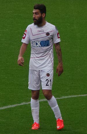 Jimmy Durmaz - Jimmy Durmaz playing for Gençlerbirliği