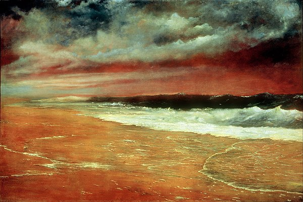 Joaquín Clausell - Late Afternoon by the Sea (The Red Wave) - Google Art Project.jpg