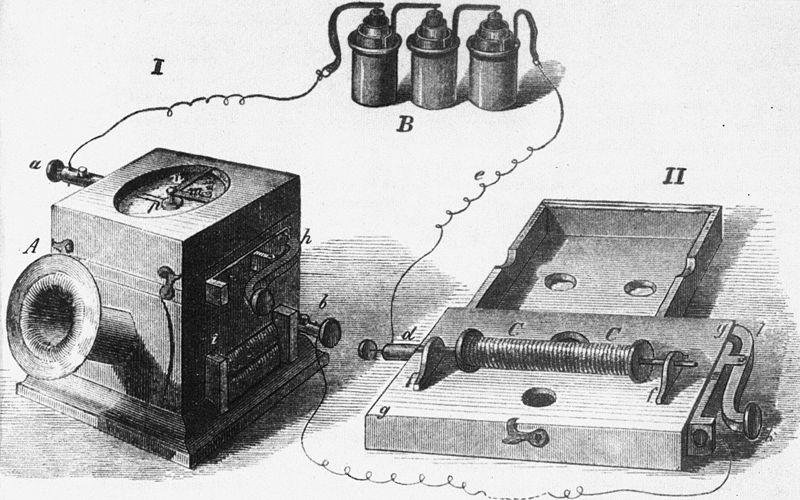 Teléfono de Johann Philipp Reis.
