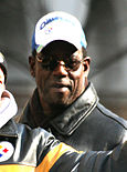 Mitchell in Pittsburgh's Super Bowl XLIII parade