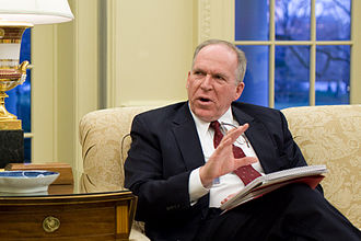 Russian interference in the 2016 United States elections - John O. Brennan, Assistant to the President for Counterterrorism and Homeland Security, in the Oval Office, Jan 4, 2010