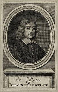 John Cleveland English poet