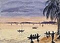 John Edmund Taylor, Singapore. From Tanjong Katong. (1879, Wellcome V0037488).jpg