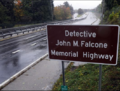 John M. Falcone Memorial Highway sign.PNG