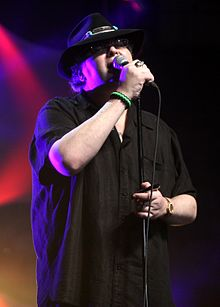 John Popper performing in Tampa, Florida.