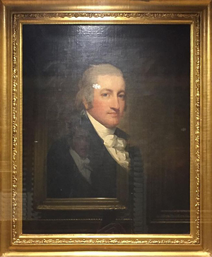 Mount Airy, Richmond County, Virginia - Painting by Gilbert Stuart on display at the Metropolitan Museum of Art
