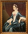 John singleton copley, ritratto di signora con vestito blu, 1763.jpg