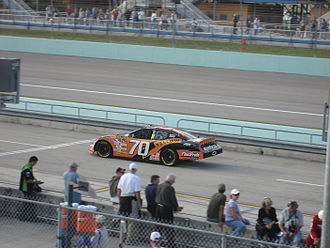Johnny Sauter - Sauter practicing for the 2007 Ford 400 at the Homestead-Miami Speedway.