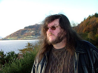 Jonathan Downes - Jon Downes at Loch Ness, November 2005