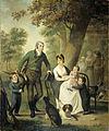 Jonkheer Gijsbert Carel Rutger Reinier van Brienen van Ramerus (1771-1821), met zijn vrouw en vier van hun kinderen Rijksmuseum SK-A-1355.jpeg