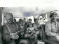 Jordanian army escorts freed family in Black September 1970.png