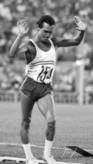 Jorge Llopart - Llopart at the 1980 Olympics