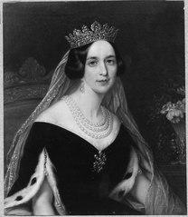 Josefina, 1807-1876, drottnig, gift med Oscar I