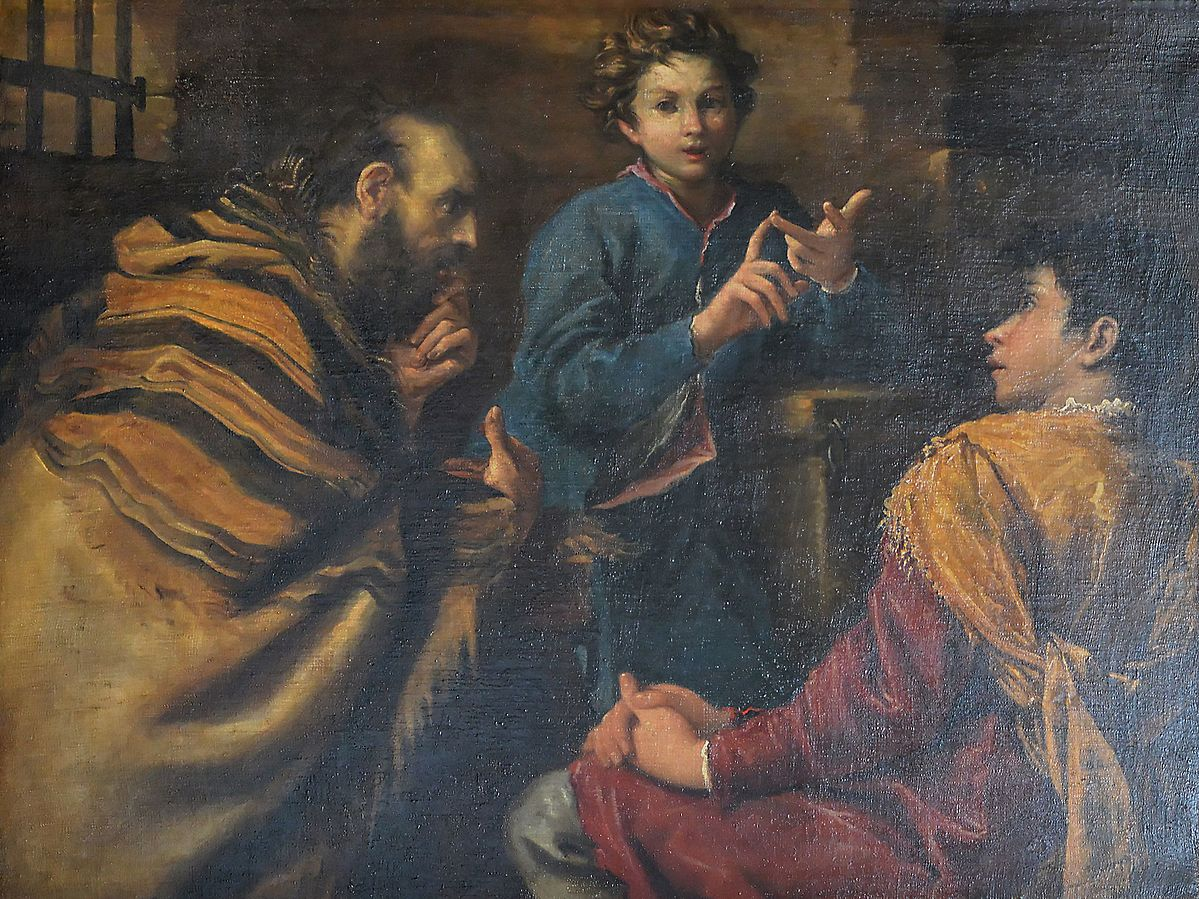 Joseph Interpreting Dreams