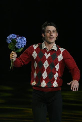 Brian Joubert - Joubert performs his Madeleine exhibition at the 2008 Trophée Eric Bompard gala