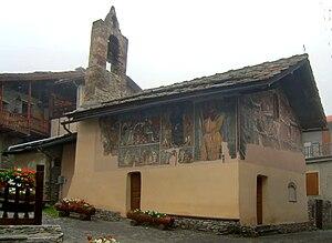 Sauze d'Oulx - Chapel of  Sant'Antonio abate in Jouvenceaux