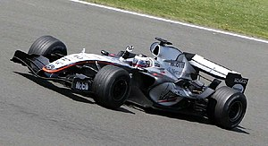 2005 British Grand Prix - The race was won by Juan Pablo Montoya, his first victory for McLaren.