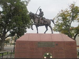 Juan Seguín - Image: Juan Seguin grave and monument, Seguin, TX IMG 8164