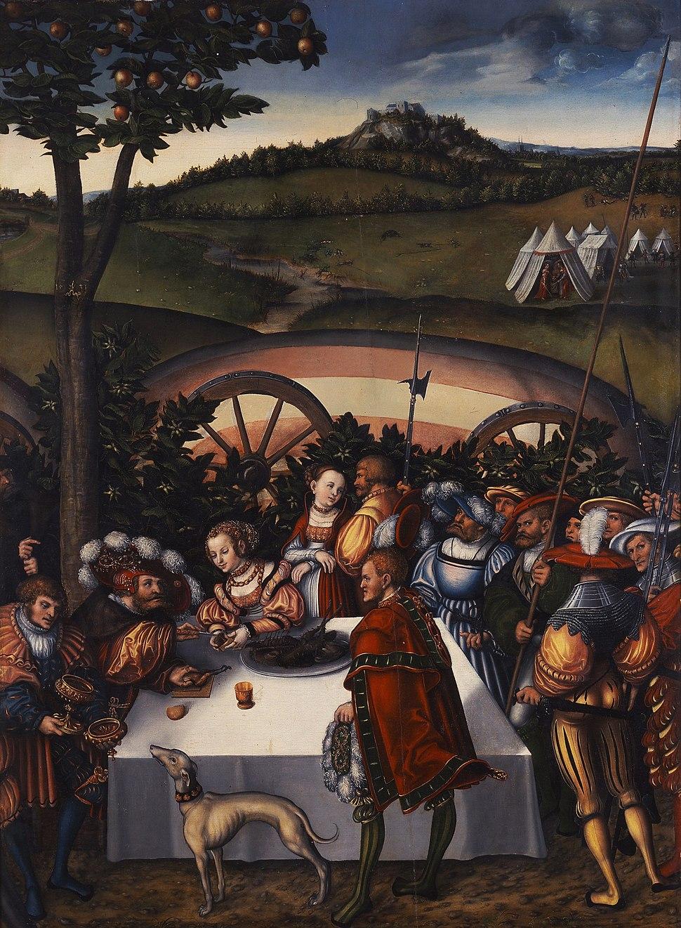 Judit-an-der-Tafel