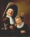 Judith Leyster - A Boy and a Girl with a Cat and an Eel - WGA12956.jpg