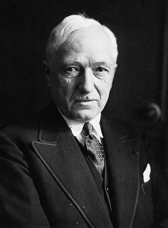 FIFA president Jules Rimet convinced the confederations to promote an international football tournament. Jules Rimet 1933.jpg