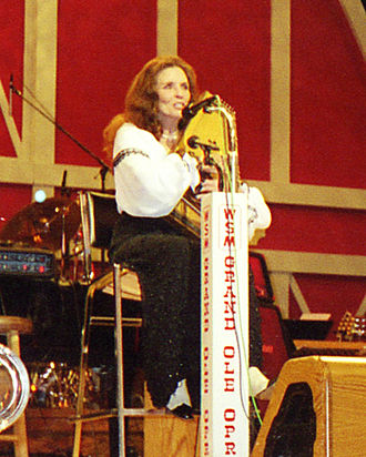 Autoharp - June Carter with autoharp