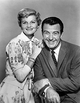 Barbara Billingsley en Hugh Beaumont in Leave It to Beaver