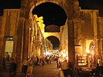 Jupiter Temple in Damascus at night.jpg
