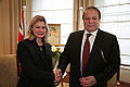 Justine Greening and Prime Minister of Pakistan Nawaz Sharif December 2014.jpg