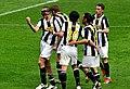 Juventus v Chievo, 5 April 2009 - Bianconeri's celebration.jpg