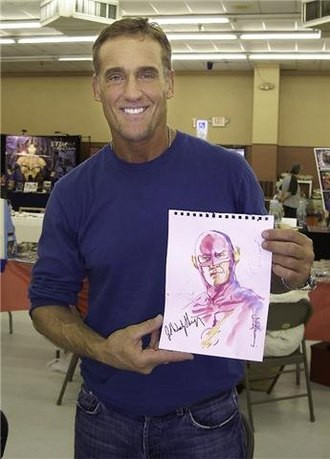 John Wesley Shipp - John Wesley Shipp at Florida Supercon in 2010